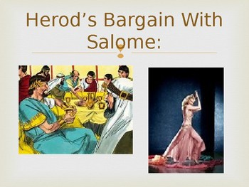 Salome, A Resource For The Opera