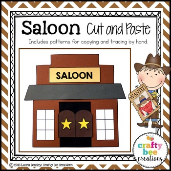 Saloon Cut and Paste