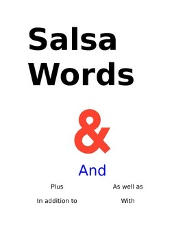 Salsa Words