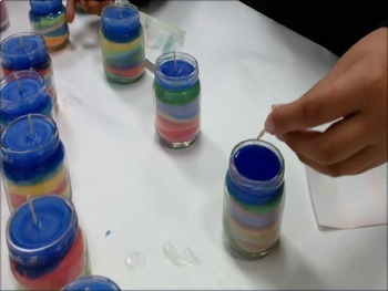Salt Candles in Science