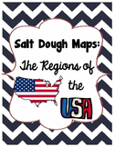 Salt Dough Maps of the US