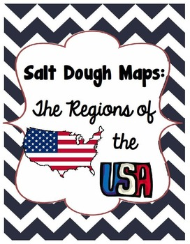 Salt Dough Maps of the US