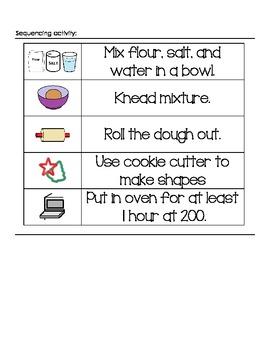 Salt Dough Ornament Experiment Data Sheet