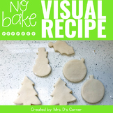 Salt Dough Ornament Visual Recipe | No Bake Salt Dough Orn