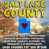 Salt Lake County, Utah Informative Reading, Opinion Writing