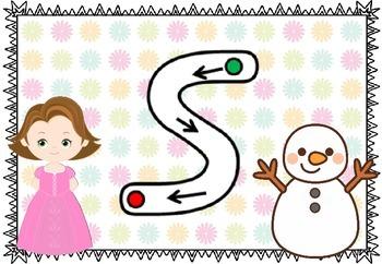 Salt Letter Formation Mats