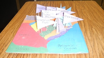 Salt Map Geography Project