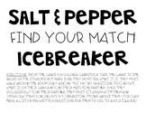 Salt & Pepper Find Your Match Icebreaker Game
