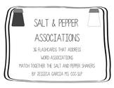 Salt & Pepper Word Associations