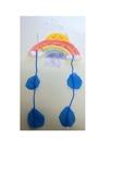 Salt Spring Watercolor Rainbow Mobile