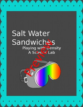 Salt Water Lab - Playing with Density