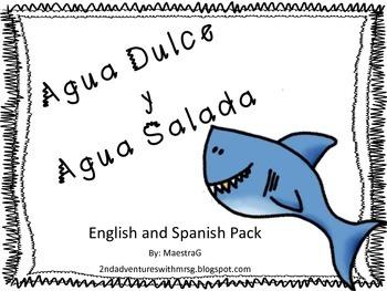Salt Water and Fresh Water Bilingual Mini Unit