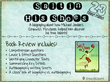 Growth Mindset - Salt in His Shoes - Michael Jordan Biography