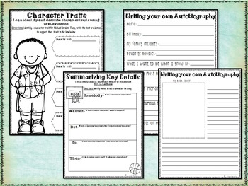 Growth Mindset - Salt in His Shoes - Biography and Reading Comprehension