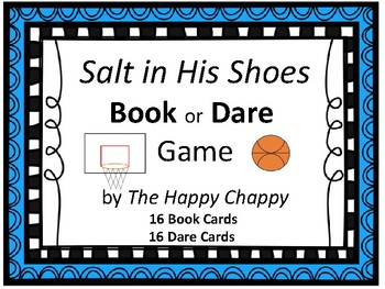 Salt in His Shoes Book or Dare Reading Game