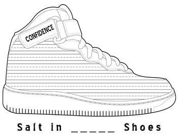 Salt in His Shoes Reading Response Sheets