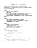 Salt in His Shoes -- Guided Reading Plans
