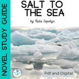 Salt to the Sea Novel Study Guide for Distance Learning