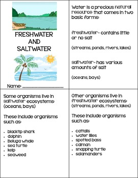 Saltwater and Freshwater Organisms {English}