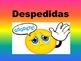 Saludos, Despedidas y Presentaciones-student presentation and worksheets