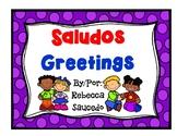 Saludos Greetings (Conscious Discipline)
