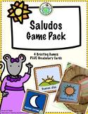 Saludos Greeting Games Spanish Printable Resource