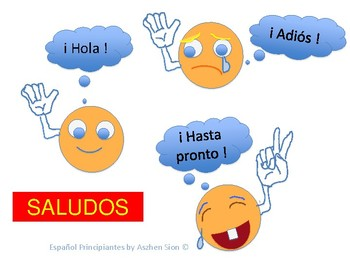 Saludos- Greetings in Spanish