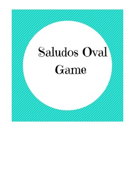Saludos Oval Game Voces Chapter 1
