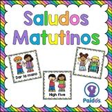 Saludos para la Clase, en español y en inglés.