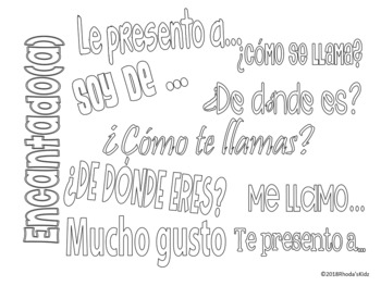 Saludos y Despedidas -Greetings and Goodbyes in Spanish
