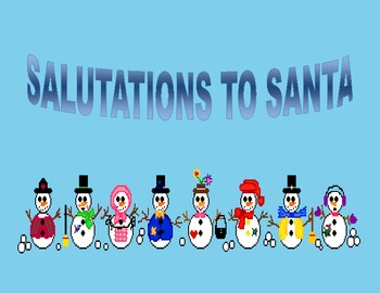 Salutations to Santa  (Writing Center)