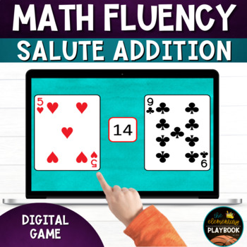 Math Fluency Games: Salute Addition