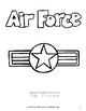 Salute Our Heroes: Military Coloring Book