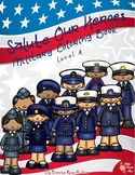 Salute Our Heroes: Military Coloring Book-Level A