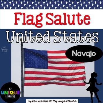 Pledge of Allegiance- UNITED STATES (in Navajo)