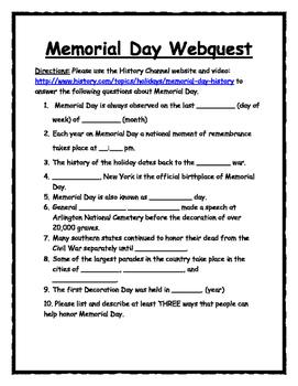 Salute the Troops WEBQUEST BUNDLE