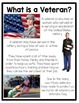 Saluting Our Veterans: A K-2 Nonfiction Resource Pack