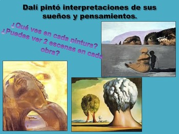 Salvador Dalí, a Spanish Artist (speaking and cultural activity)