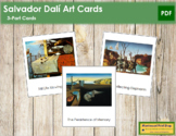 Dali (Salvador) 3-Part Art Cards