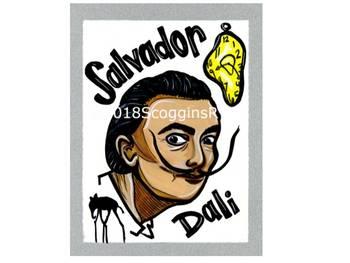 Salvador Dali- Artist Poster