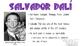Salvador Dali Bundle (PPT, Notes, Quiz)