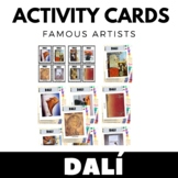 Salvador Dali - Famous Artist Activity Cards - Art Unit -