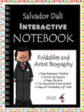 Salvador Dali - Famous Artist Biography Research Project - Interactive Notebook