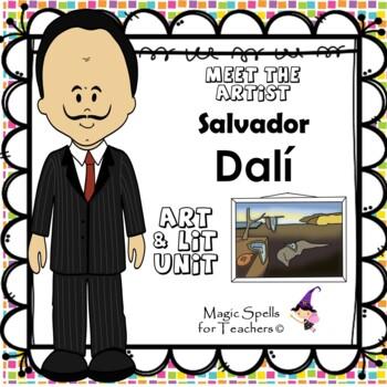 Salvador Dali - Meet the Artist - Artist of the Month - Lit Unit Printables
