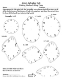 Salvador Dali Melting Clocks Classroom Activity