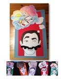 Salvador Dali Mustache Elementary Visual Arts or Arts Integration Project.