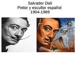 Salvador Dalí in Spanish