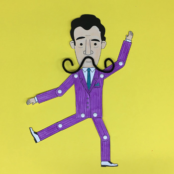 Salvador Dali Printable Paper Doll