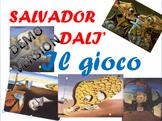 Salvador Dali' gioco interattivo in power point per bambini (versione demo)