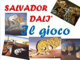 Salvador Dali' gioco a quiz interattivo . Versione modific